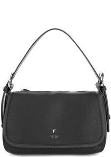 Черная сумка с широкой ручкой Fiorelli