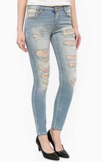 Рваные джинсы со стандартной посадкой MET