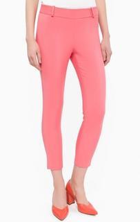 Укороченные розовые брюки Kocca