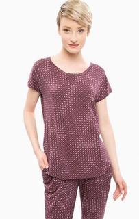 Фиолетовая футболка свободного кроя Jockey