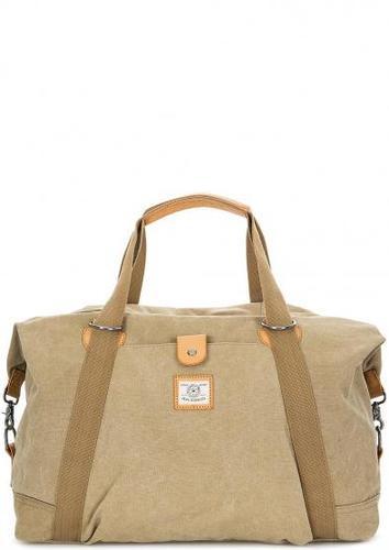 Вместительная дорожная сумка на молнии