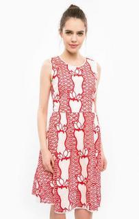 Платье средней длины с пышной юбкой Silvian Heach