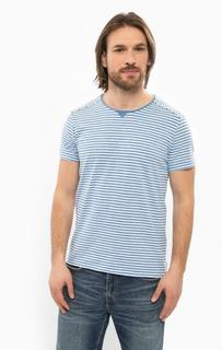Хлопковая футболка в полоску Wrangler