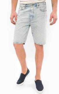 Голубые джинсовые шорты с застежкой на болты Levis®