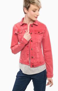 Джинсовая куртка с декоративными клапанами Tom Tailor