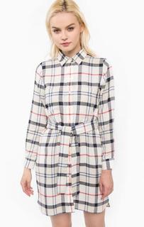 Платье-рубашка из хлопка в клетку Barbour