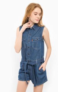Синий джинсовый комбинезон Levis®