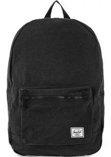 Рюкзак из хлопка черного цвета Herschel