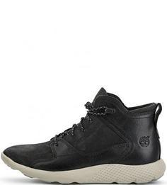 Кожаные ботинки со вставками из нубука Timberland