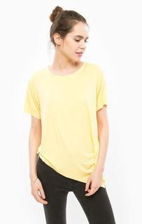 Желтая футболка с короткими рукавами Silvian Heach