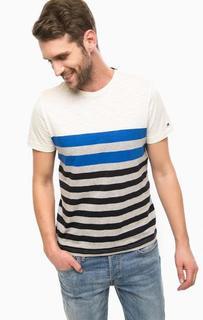 Хлопковая футболка в полоску Tommy Hilfiger
