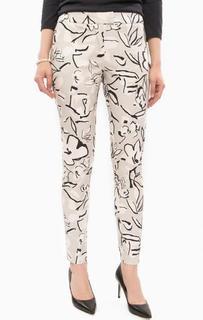 Зауженные серые брюки из хлопка Trussardi Jeans