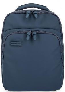 Синий рюкзак с одним отделом на молнии Mandarina Duck