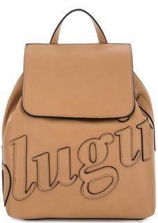 Коричневый рюкзак с тонкими лямками Blugirl