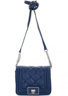 Маленькая синяя сумка через плечо Blugirl