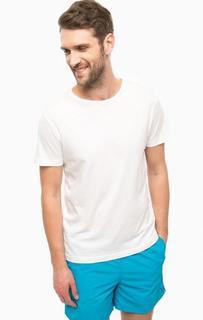 Базовая белая футболка из хлопка Tommy Hilfiger