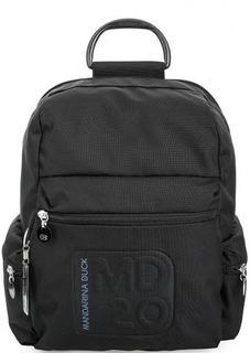 Текстильный рюкзак с одним отделом на молнии Mandarina Duck