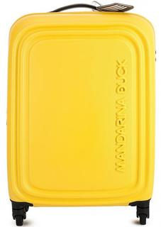 Желтый чемодан с кодовым замком Mandarina Duck