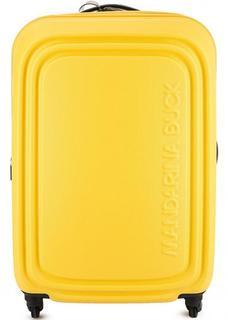 Чемодан на колесах желтого цвета с кодовым замком Mandarina Duck