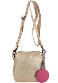 Маленькая кожаная сумка через плечо Mandarina Duck