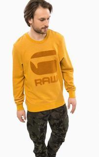 Свитшот с объемной вышивкой G Star RAW