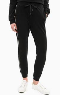 Черные брюки в спортивном стиле с манжетами Liu Jo Sport