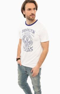 Хлопковая футболка с короткими рукавами D&S Ralph Lauren