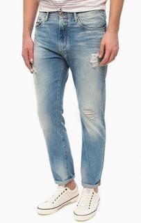 Зауженные джинсы с рваными деталями Hilfiger Denim