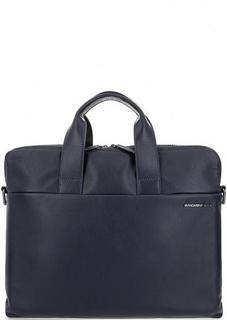 Кожаная сумка с короткими ручками Mandarina Duck