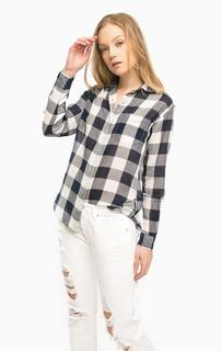 Рубашка в клетку с нагрудным карманом D&S Ralph Lauren