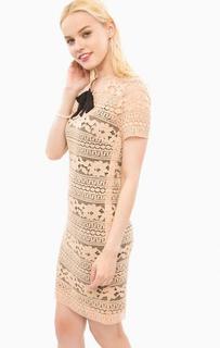 Кружевное платье со съемной подкладкой Trussardi Jeans