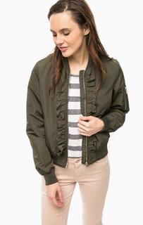 Легкая куртка с декоративными оборками Vero Moda