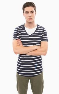 Хлопковая футболка в полоску Besilent