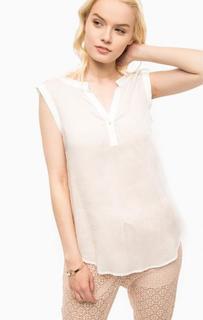 Блуза без рукавов в горошек Kocca