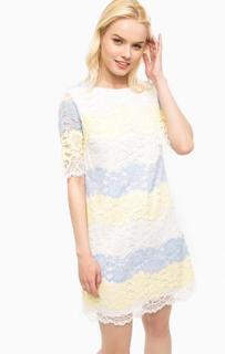 Кружевное платье с короткими рукавами Kocca