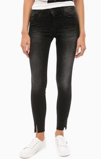Черные джинсы со средней посадкой Calvin Klein Jeans
