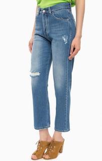Рваные джинсы на болтах Kocca