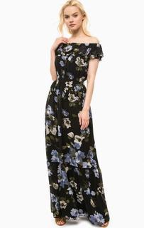 Длинное платье с цветочным принтом Kocca