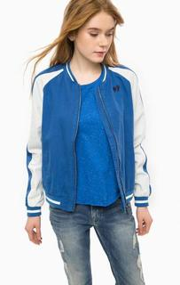 Легкая куртка-бомбер из хлопка Pepe Jeans