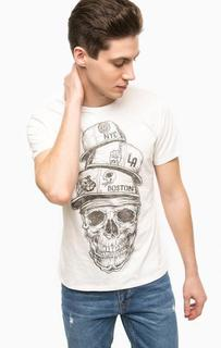 Хлопковая футболка с короткими рукавами Alcott