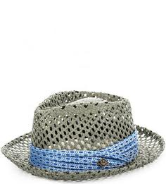 Серая плетеная шляпа Goorin Bros.