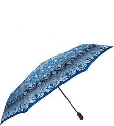 Синий зонт с прорезиненной ручкой Doppler