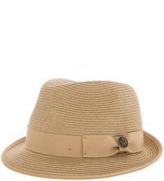 Плетеная шляпа с широкой лентой Goorin Bros.