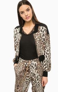 Легкая куртка на молнии с животным принтом Marciano Guess