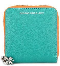 Кожаный кошелек на молнии George Gina & Lucy