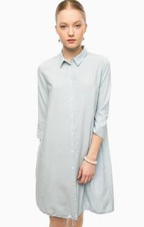 Платье-рубашка в полоску Think Chic
