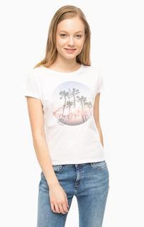 Белая футболка с короткими рукавами Wrangler