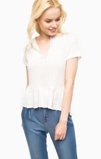 Белая блуза из льна Kocca