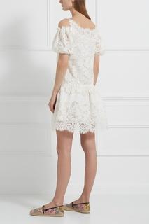 Хлопковое платье Ermanno Scervino