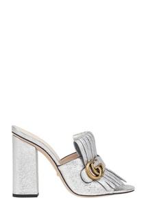 Кожаные босоножки Gucci
